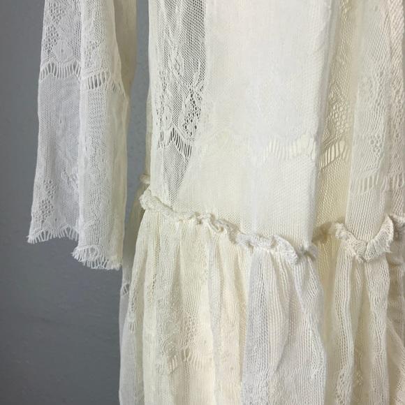 Lace boho crochet cardigan jacket. M 5b625a4f7c979dbf491ee2c0 068dbff38